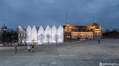 Bảo tàng Szczecin nhận danh hiệu Công trình Quốc tế của năm.