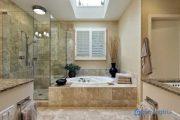 Tư vấn cách chọn chất liệu lát cho phòng tắm giúp tăng hiệu ứng