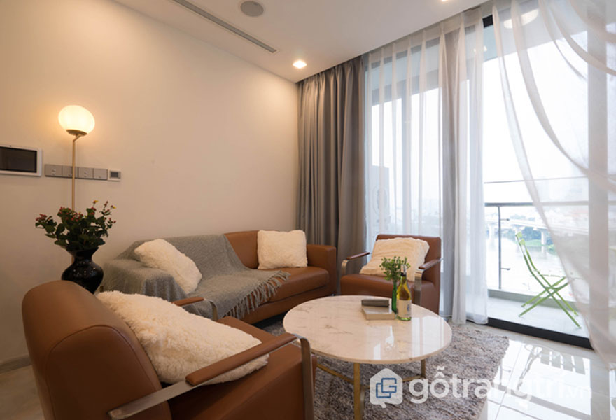Căn hộ 76 m2 hoàn thành trong 7 ngày - Ảnh: Thanh Trúc
