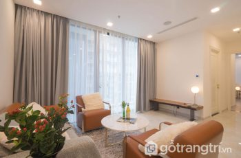 Ngắm nhìn không gian của căn hộ 76 m2 hoàn thành trong 7 ngày