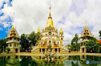 Vẻ đẹp quên lối về của chùa Bửu Long (TP.HCM) với kiến trúc Thái Lan độc đáo