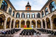 Say đắm kiến trúc độc đáo của trường đại học Bolognaở châu Âu