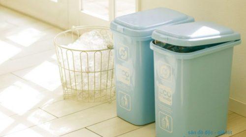 Bạn đã biết đặt thùng rác đúng vị trí phong thủy trong nhà chưa?