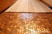Sức mạnh của gạch penny mang đến vẻ đẹp sáng bóng cho căn nhà