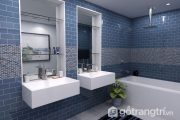 Gạch subway - Sự quyến rũ cho không gian phòng tắm với đủ sắc màu