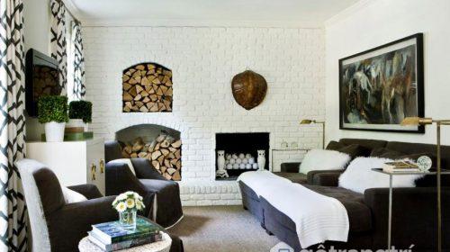 Ngất ngây với mẫu gạch trắng trong trang trí nội thất nhà ở