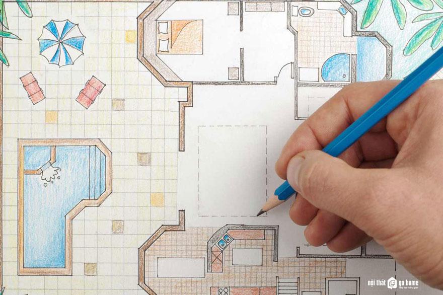 Ứng dụng công cụ vào thiết kế nội thất