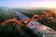 Lucky Knot Bridge – Cây cầu nút thắt may mắn ở Trung Quốc