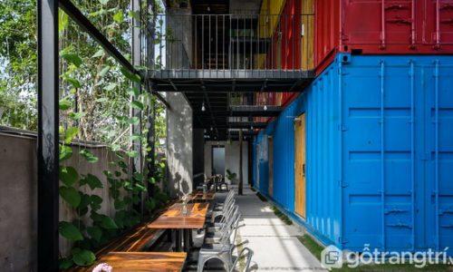 Ccasa Hostel Nha Trang – Nhà nghỉ du lịch độc đáo từ container