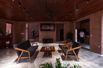 Bất ngờ với không gian đẹp của ngôi nhà Mộc ngoại thành Hà Nội
