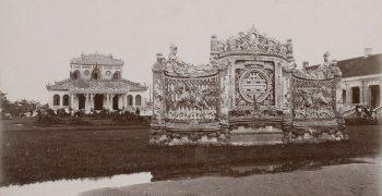 Kiến trúc Bình phong trong nhà vườn truyền thống của người Huế