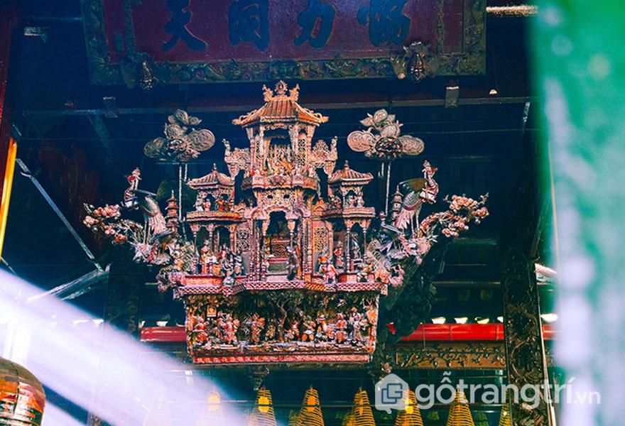 Kiến trúc chùa Ông - Ảnh vnexpress.net