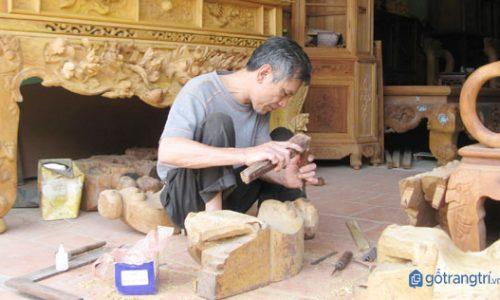 Tìm hiểu tinh hoa nghề mộc thủ công mỹ nghệ ở làng Chàng Sơn - Hà Nội
