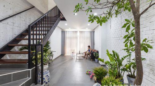 Thiết kế không gian sống nhà 4 tầng chưa đến 900 triệu ở Sài Gòn