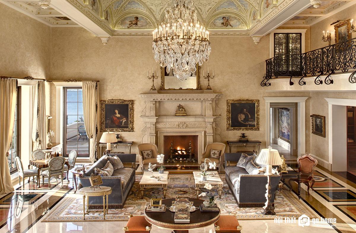 Thiết kế nội thất phong cách baroque