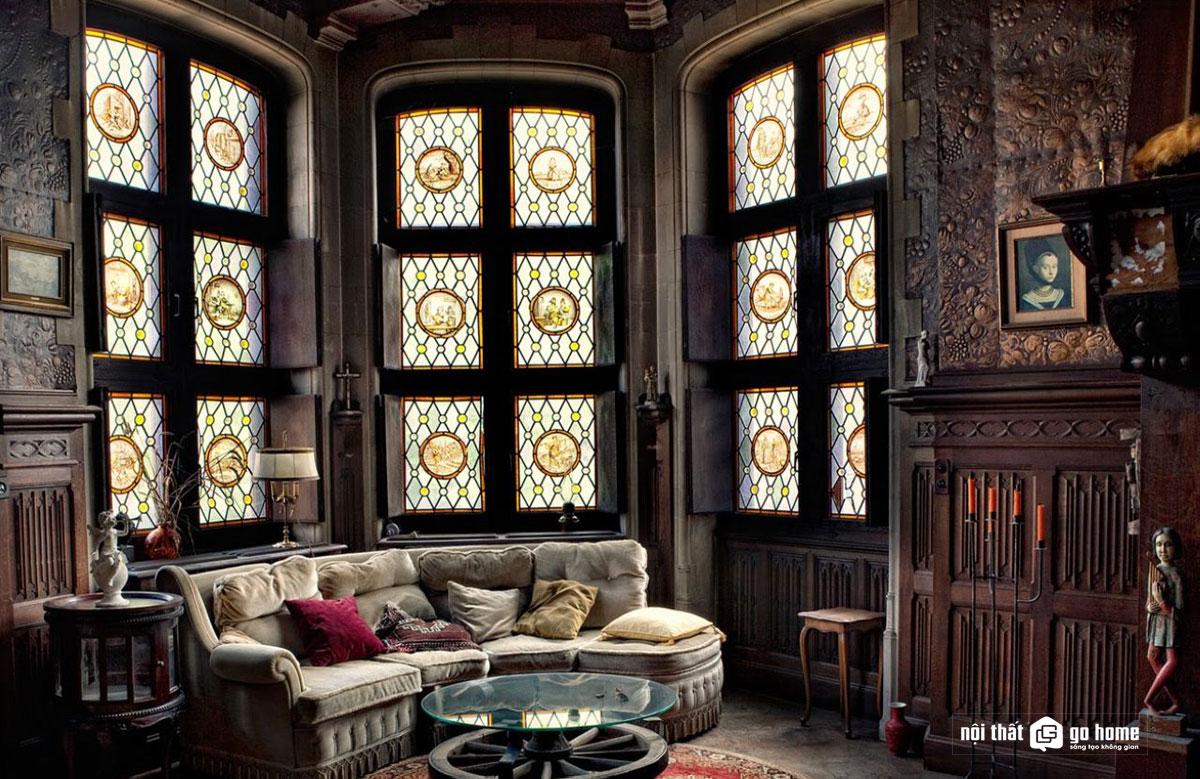 Thiết kế nội thất phong cách Gothic