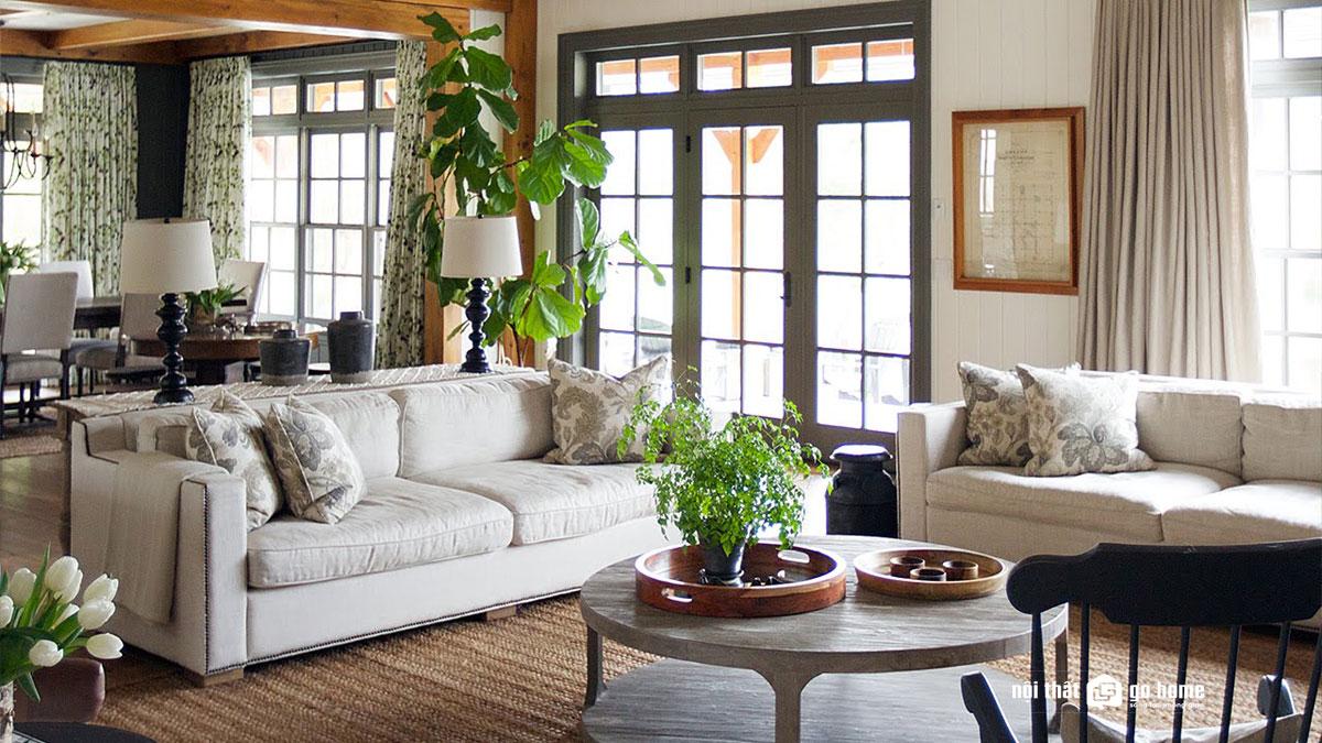 thiết kế nội thất phong cách truyền thống