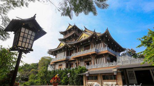 Tu viện Khánh An - Mang đậm nét phong cách kiến trúc Nhật Bản