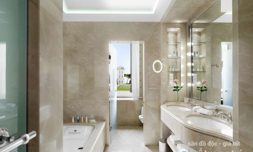 4 lưu ý khi bài trí phòng tắm dài và hẹp trong căn hộ chung cư nhỏ