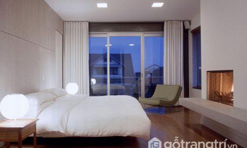 Rèm cửa màu trắng - Thổi không gian bừng sáng vào trong phòng ngủ