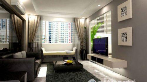 Cách chọn và treo mẫu rèm cửa sổ sáng bừng không gian phòng khách