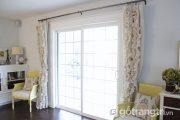 Mẫu rèm cửa sổ độc đáo đã xua tan đi sự đơn điệu cho ngôi nhà
