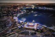 Ngắm nhìn thiết kế độc đáo của sân vận động container ở Qatar