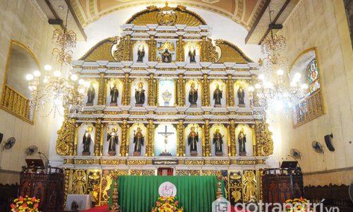 Thánh đường cổ nhất Philippines - Vẻ đẹp cổ kính của kiến trúc xưa