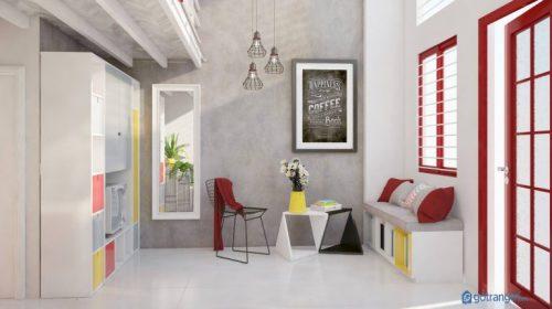 Bật mí tuyệt chiêu thiết kế nội thất phòng trọ khép kín đẹp, tiện nghi