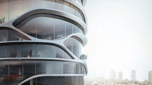 Chiêm ngưỡng vẻ đẹp tòa cao ốc xanh với kiến trúc lạ và độc đáo