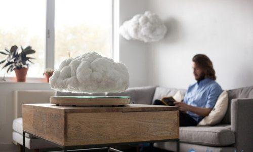 Trang trí phòng khách bay bổng bằng cách sử dụng đám mây nhân tạo