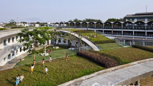 Trường mầm non ở Biên Hòa - Công trình kiến trúc đẹp ở Việt Nam