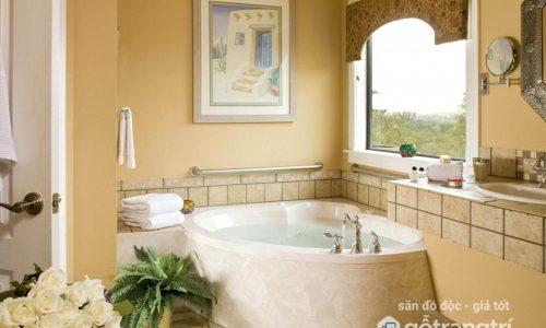 Vị trí đặt phòng tắm càng xấu, càng hút tài lộc vào nhà