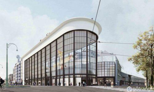 """Khám phá Pompidu- Bảo tàng nghệ thuật """"remake"""" từ xưởng ôtô cũ"""