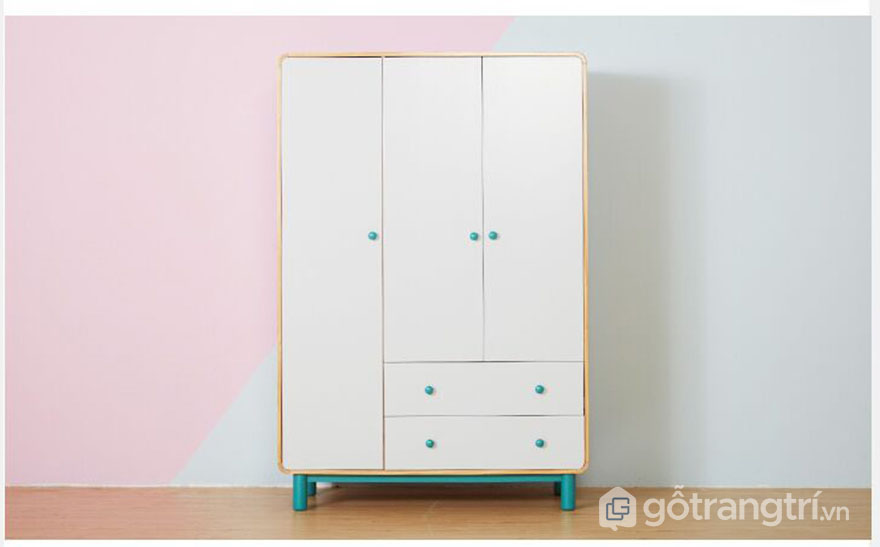 Tu-quan-ao-gia-dinh-kieu-dang-nho-gon-dep-GHS-5524