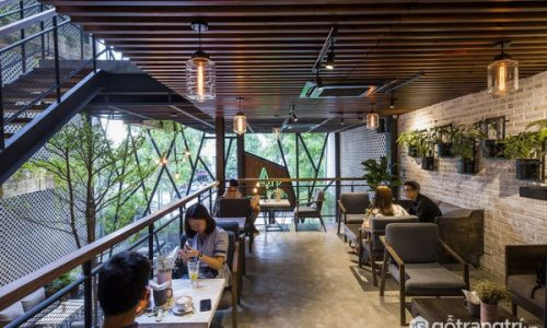 An' Garden Café- khi thiết kế công nghiệp trở nên nghệ thuật
