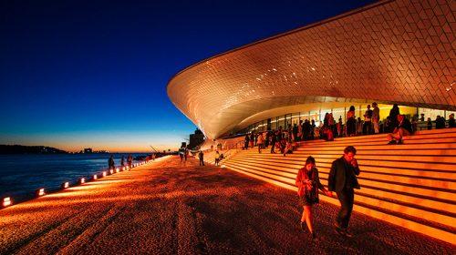 Khám phá bảo tàng MAAT có thể biến đổi màu sắc theo thời tiết