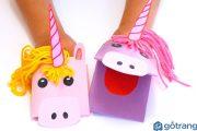 [CLIP] Mách các mẹ cách làm đồ chơi cho bé bằng giấy khiến bé thích mê