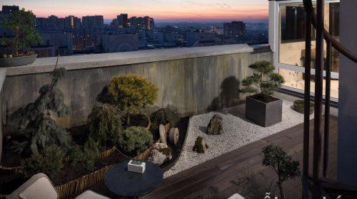 Lạc lối với kiến trúc căn hộ lai tạo giữa Ukraina và Nhật Bản