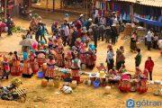 Độc đáo sắc màu chợ phiên Bắc Hà Lào Cai - đặc trưng vùng cao Tây Bắc