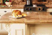 Gạch ốp đảo bếp giúp bạn bắt kịp xu hướng thiết kế nội thất 2018