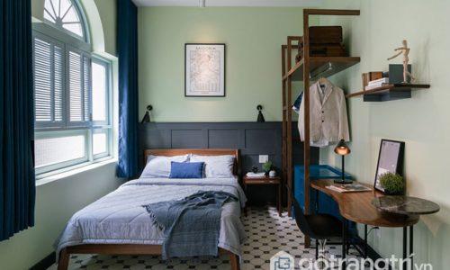 Không gian nội thất nhà ở 36 m2 rộng gấp đôi sau khi hoàn thiện