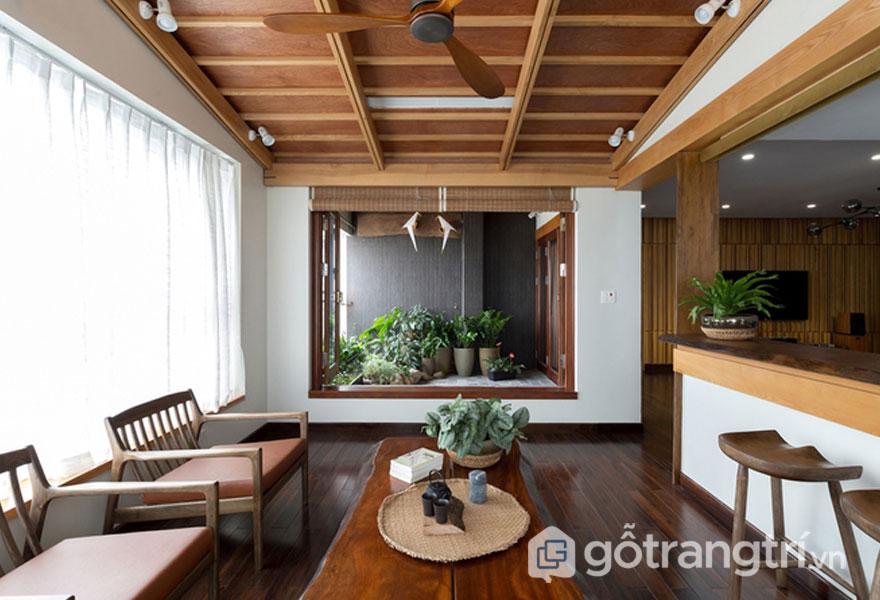 Nhà vườn kiểu Nhật - Ảnh Hoàng Lê