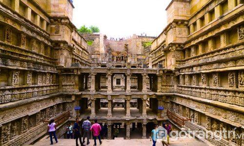 Đền Rani Ki Vav - Công trình kiến trúc ngược độc đáo, tráng lệ