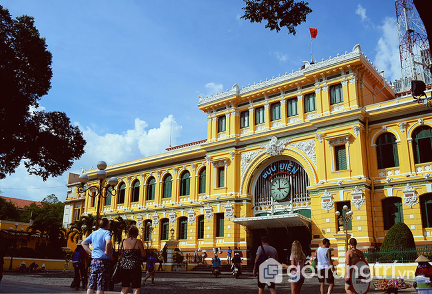Kiến trúc pháp ở Sài Gòn - Ảnh Phong Vinh