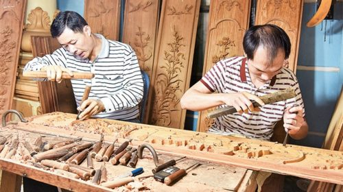 Tìm hiểu truyền thống làng nghề gỗ mỹ nghệ Phù Khê - Bắc Ninh