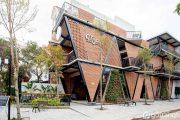 Mưa Coffee shop- kiến trúc hòa trộn giữa đường phố và trong nhà