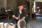 Độc đáo nghề làm trống của người Dao đỏ ỏ Tả Phìn, Sapa, Lào Cai