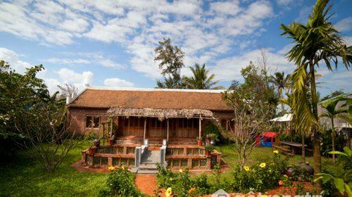 Ngôi nhà ba gian kiểu Bắc - Công trình kiến trúc đẹp ở Việt Nam