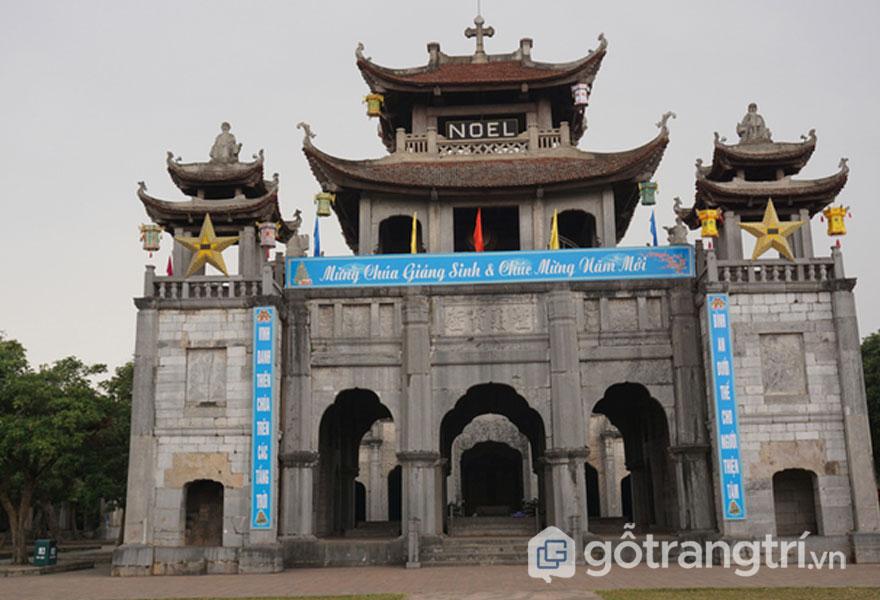 Quần thể kiến trúc nhà thờ Phát Diệm - Ảnh Vnexpress.net